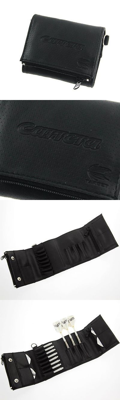 Other Darts 2907: Target Carrera Wallet Black Carbon Fx Wrap Dart Wallet Black New BUY IT NOW ONLY: $34.64
