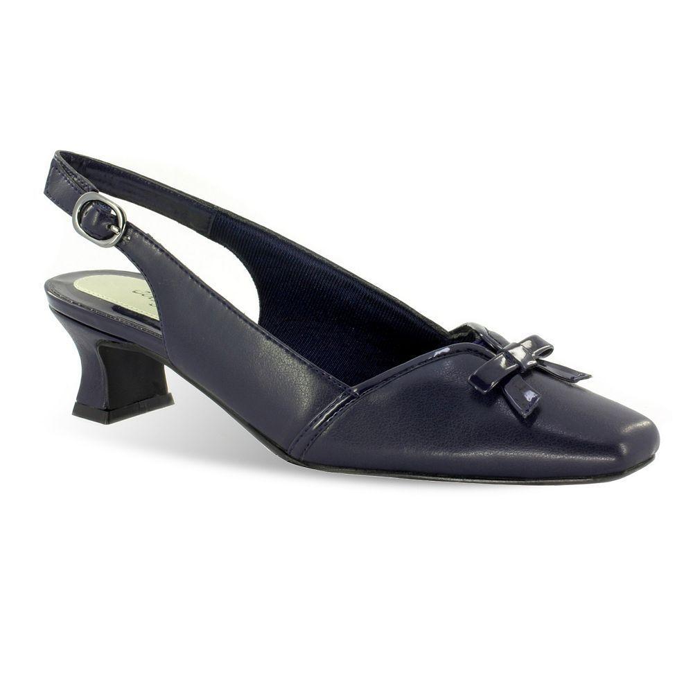 Easy Street Incredible Women's ... Slingback Dress Heels gopgKG4Y