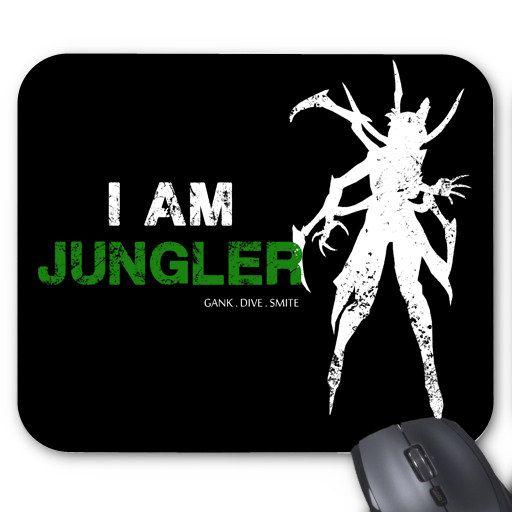 League of Legends JUNGLER Mouse Pad (choose champion)