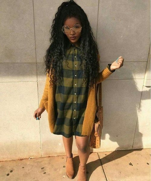 Black Girl Fashion Trends: Image About Fashion In Black Slay #darkskin #melanin