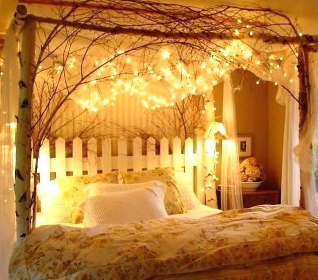 How to Make Romantic Bedroom with Canopy Beds   Bedroom in ...