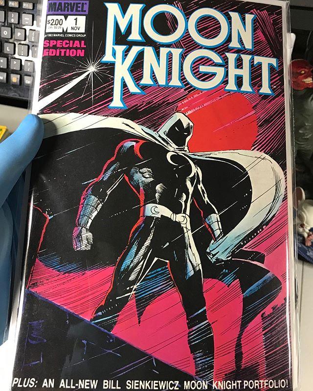 Moon Knight Special Edition 1 Dustyatticcomics Moon Knight Knight Comic Book Cover