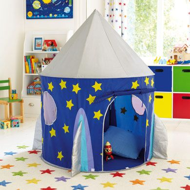 Rocket Pop Up Tent - Play Tents u0026 Wigwams - Toys u0026 Gifts & Rocket Pop Up Tent | Jamesu0027s Room | Pinterest | Tents Room and ...