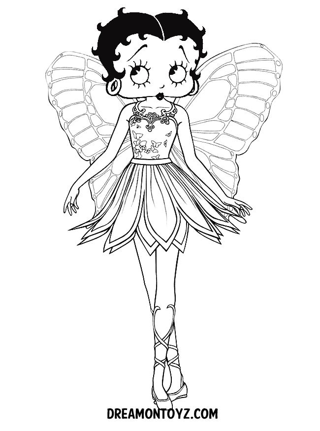 Betty Boop Pictures to Print | Betty Boop Coloring Pages To Print ...