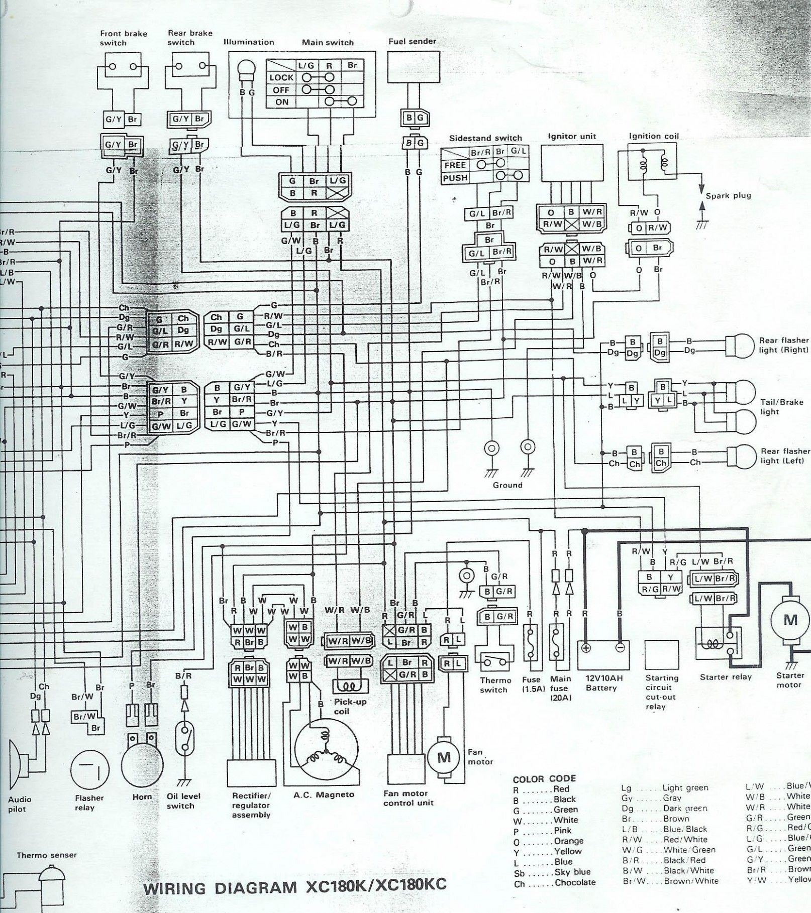 Yamaha Lagenda 6z Engine Diagram Diagram Electrical Diagram Electrical Circuit Diagram