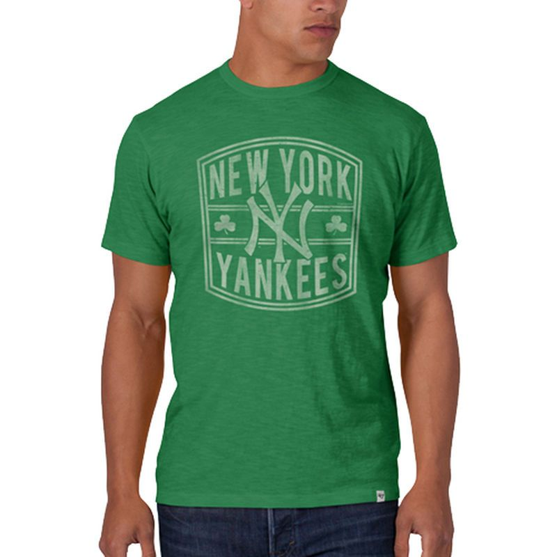 New York Yankees St. Patrick s Day Scrum T-Shirt - Kelly Green ... b5894b9e8ae