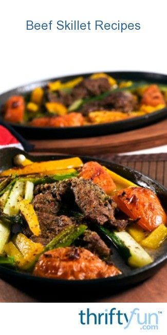Photo of Beef Skillet Recipes
