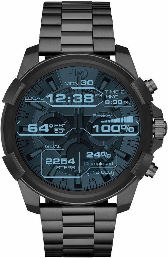 Diesel On Full Guard 2 5 Dzt2008 Smartwatch 1 39 Zoll Wear Os By Google Modnye Chasy Muzhskie Naruchnye Chasy Sportivnye Chasy