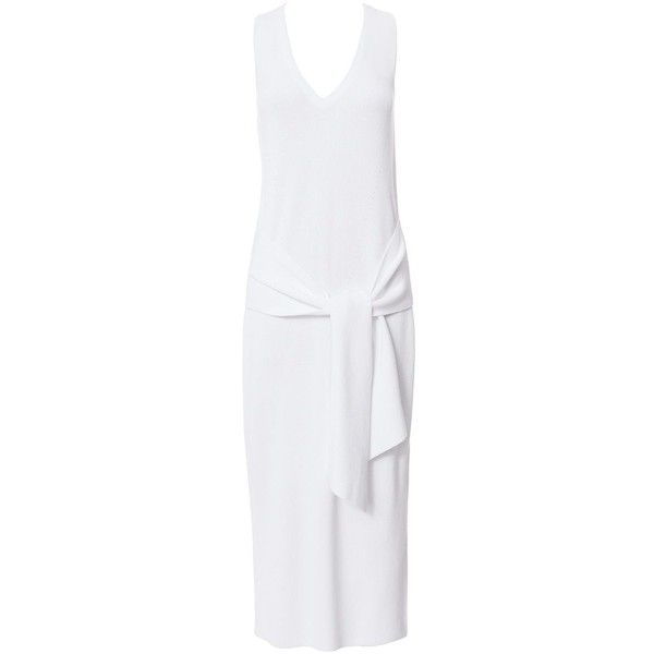 88e99b167b0 Rag   Bone Women s Michelle Tie Front Sweater Dress (610 CAD) ❤ liked on  Polyvore featuring dresses