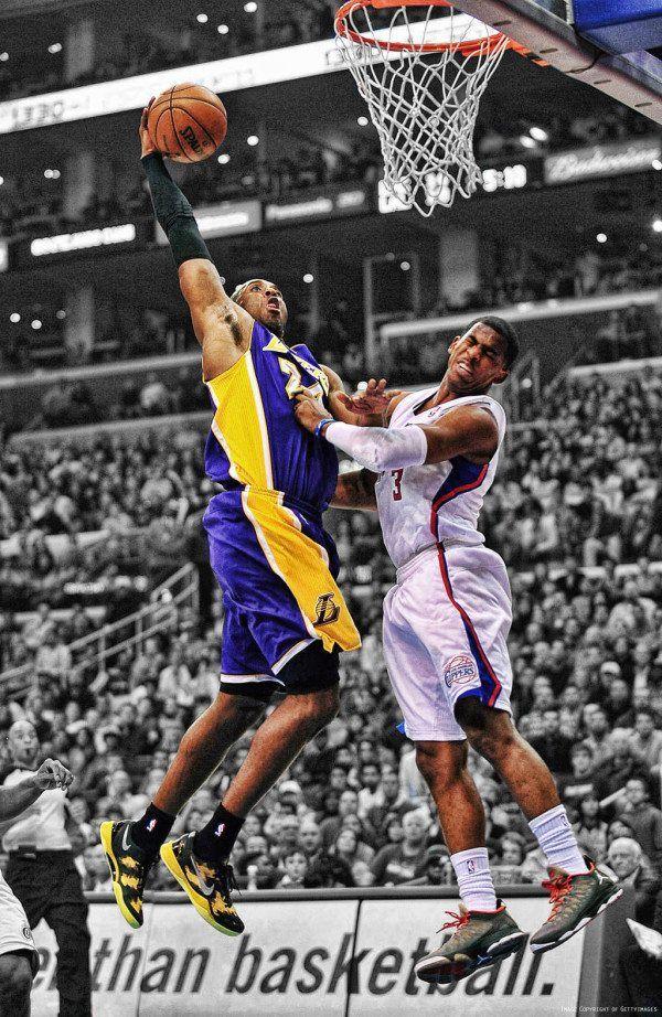 cheaper 0054c 5300d Kobe Bryant dunks on Chris Paul. I dislike Kobe but this is a cool pic