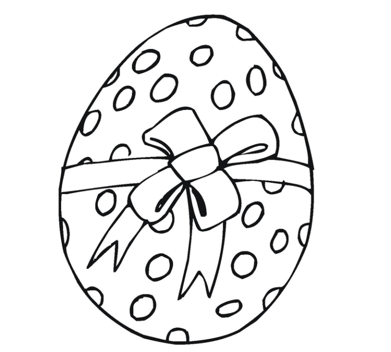 Easter Eggs Drawing