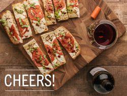 Good Taste - Appetizer idea: caprese garlic bread There's...