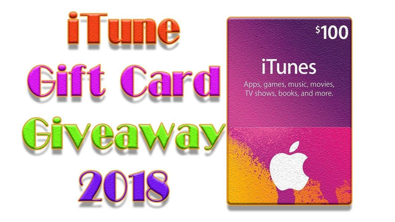 Free iTunes gift cards codes 2018, how to get free itunes cards
