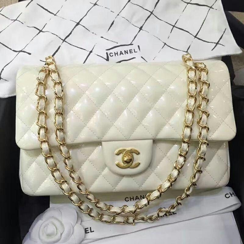 Chanel 2 55 Kuzu Derisi Kar Beyazi Canta Yeni Sahibi Icin Hazirlaniyor Chanelbags Chanelcanta Chanel2 55 Chanel25 Chanel Jumbo Women Handbags Chanel Dubai