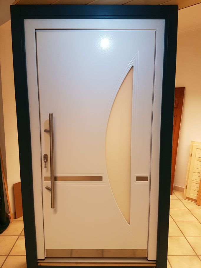 Delightful Günstige Haustüren Im Abverkauf. #Aluhaustür #entrydoor #Hausbau #entrance  #entrydoor #