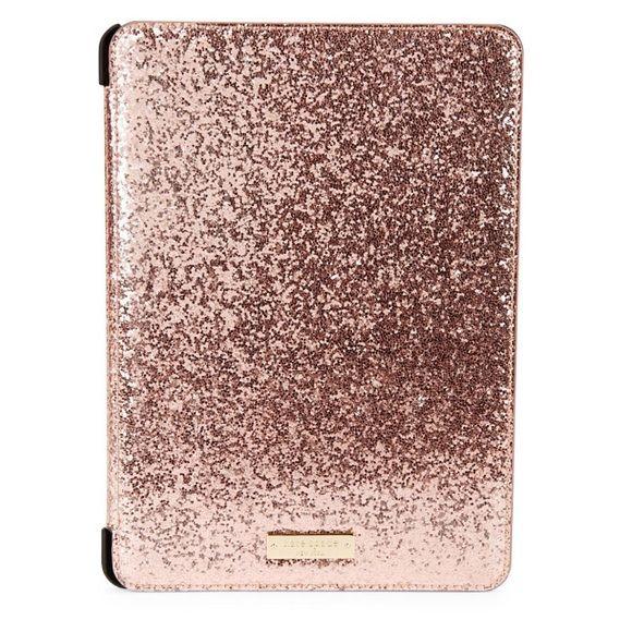 new arrivals 05052 cbec1 KATE SPADE GLITTER BUG ROSE COLOR iPad Air 2 case KATE SPADE GLITTER ...