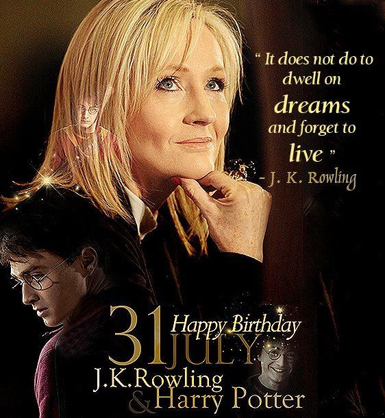 ... forget to live' -JK Rowling #Quote #Philosophy #Birthday #HarryPotter