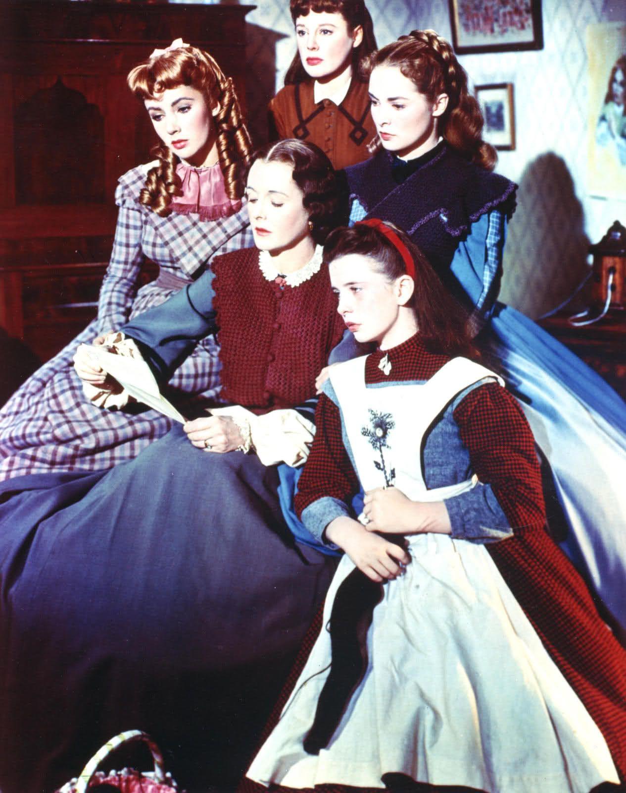 Allyson Is Watching little women, 1949 - elizabeth taylor, june allyson, janet