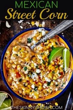 Mexican Street Corn recipe is an easy and fast side dish to make up on your next taco night Its creamy delicious and ready in just 5 minutesMy Mexican Street Corn recipe...