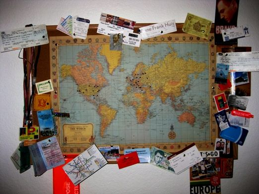We all do it. Keep that ticket stub, a box of photos, anything to remember your travels. But what do you do with it all when you get home? Here are a few ideas...