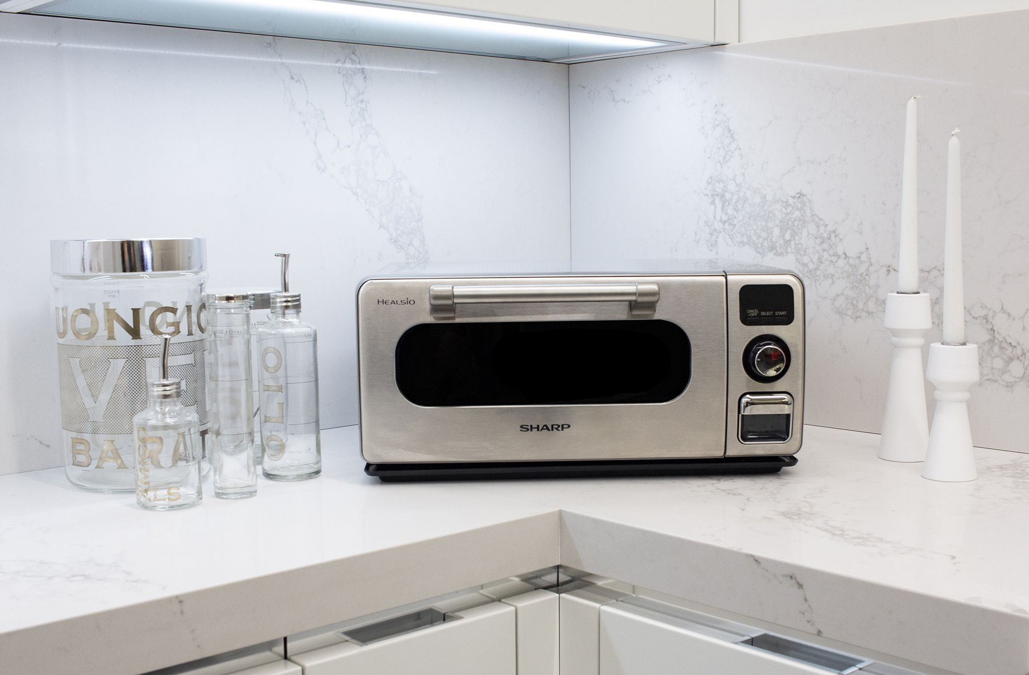 The Sharp Superheated Steam Countertop Oven  What will you