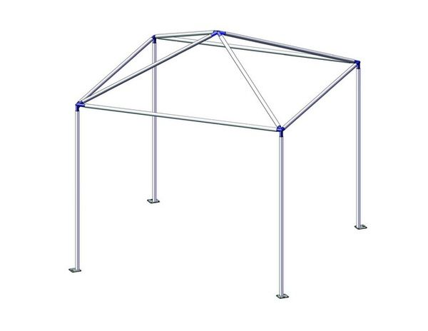 PVC Canopy tent Frame Plan | TENT FRAME ANGLE JOINT KITS u2013 Wall tents | Canvas Tents | Canvas | pvc | Pinterest | Pvc canopy Wall tent and Canopy tent  sc 1 st  Pinterest & PVC Canopy tent Frame Plan | TENT FRAME ANGLE JOINT KITS u2013 Wall ...