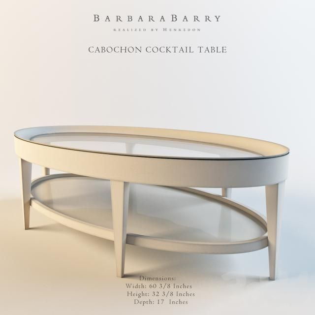 Barbara Barry_CABOCHON COCKTAIL TABLE