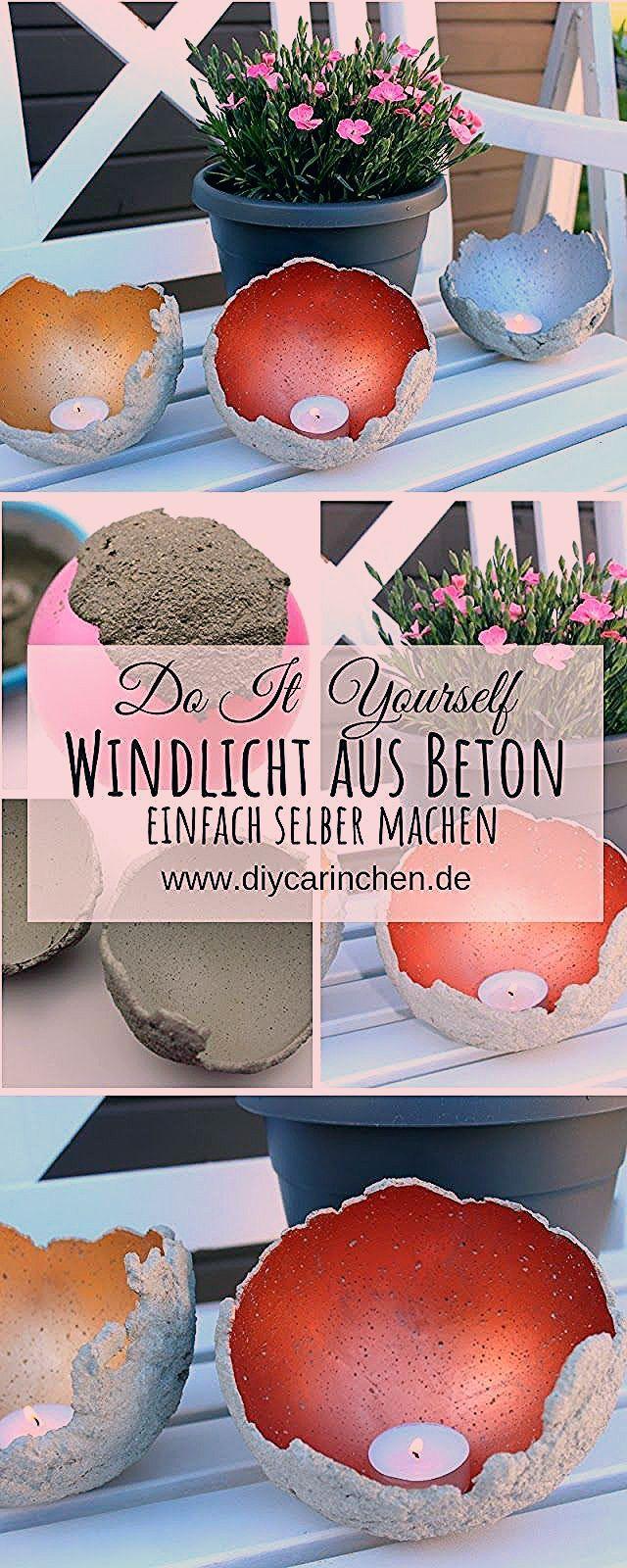 Photo of DIY Windlichter aus Beton ganz einfach selber machen – die perfekte Gartendeko – DIYCarinchen