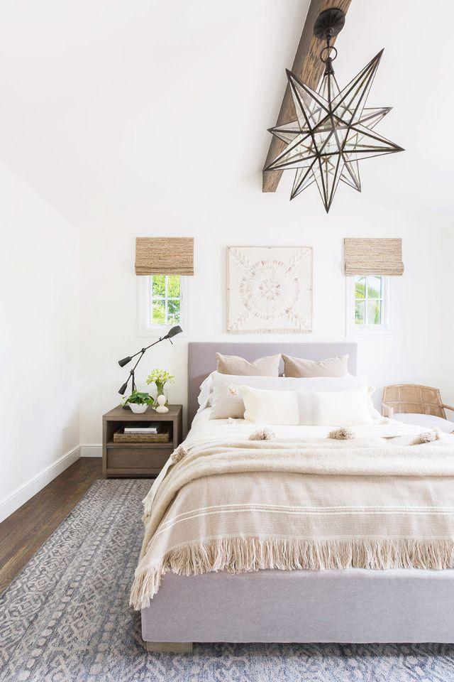 Neutral Color Palette Bedroom Subtle Spanish Vibe
