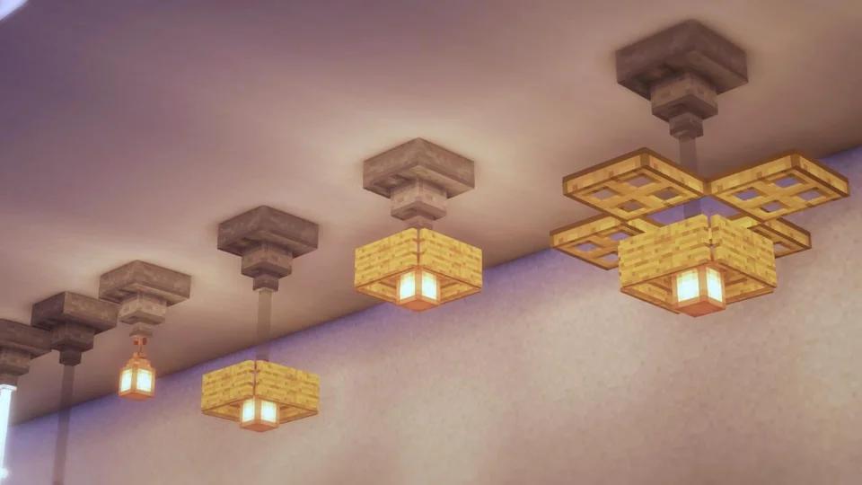 Light Designs Minecraftbuilds In 2020 Minecraft Houses Xbox Cool Minecraft Houses Minecraft Interior Design
