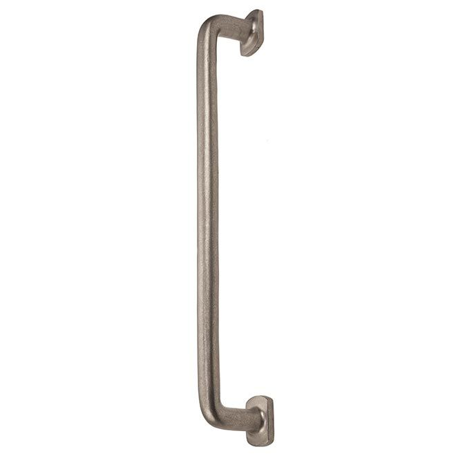This Platinum Finish Appliance Door Pull With Flared Base Design Is A Part Of The Renaissance Series By Hardwa Door Pull Handles Door Pulls Decorative Hardware