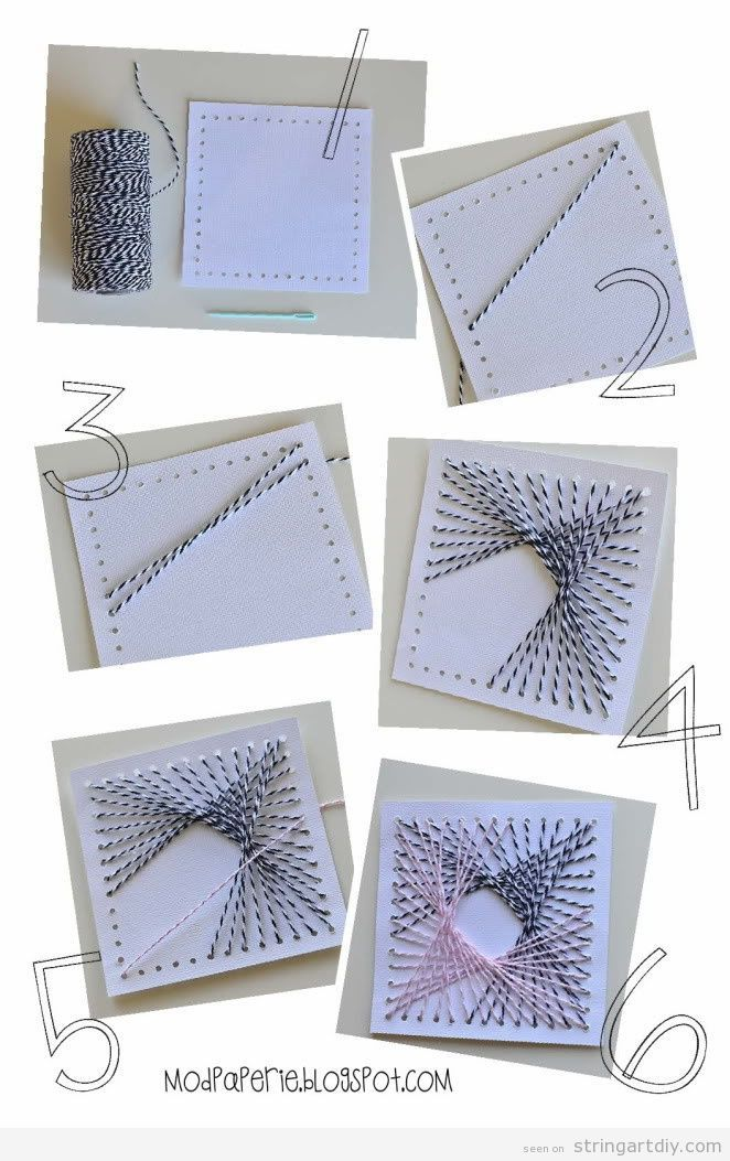 51 Easy Interesting Diy String Art Patterns