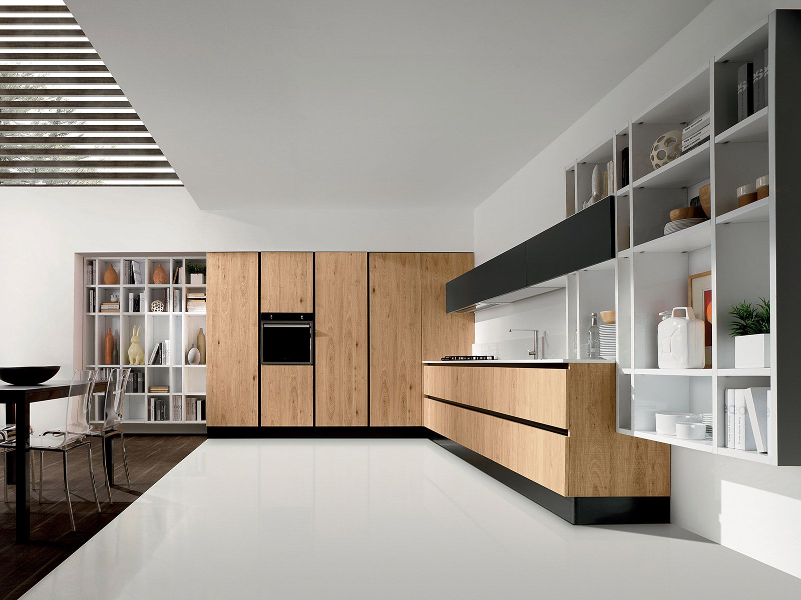 Cucine moderne in legno | Modern kitchen inspiration, Modern ...
