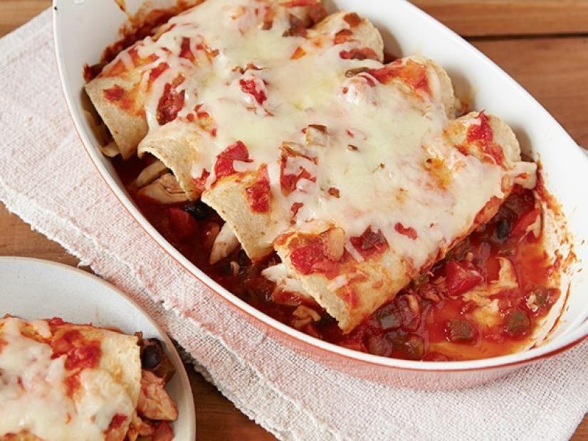 Shortcut Chicken Enchiladas Recipe In 2018 Mexican Recipes