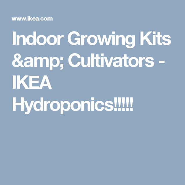 Kryddavxer grow kit w 30 pots 3 tiers indoor gardening indoor growing kits cultivators ikea hydroponics workwithnaturefo