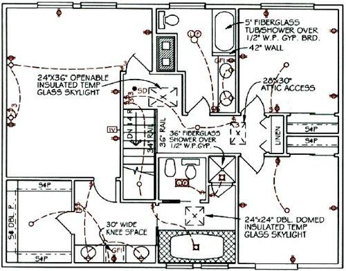 houseelectricalcircuitsymbolsdesignthumb 500×392