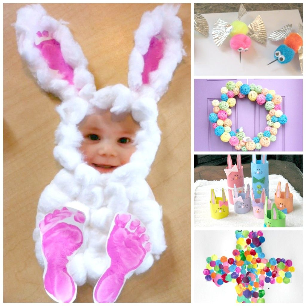 Dollar Store #EASTER-#CRAFTS-KIDS-BUTTON