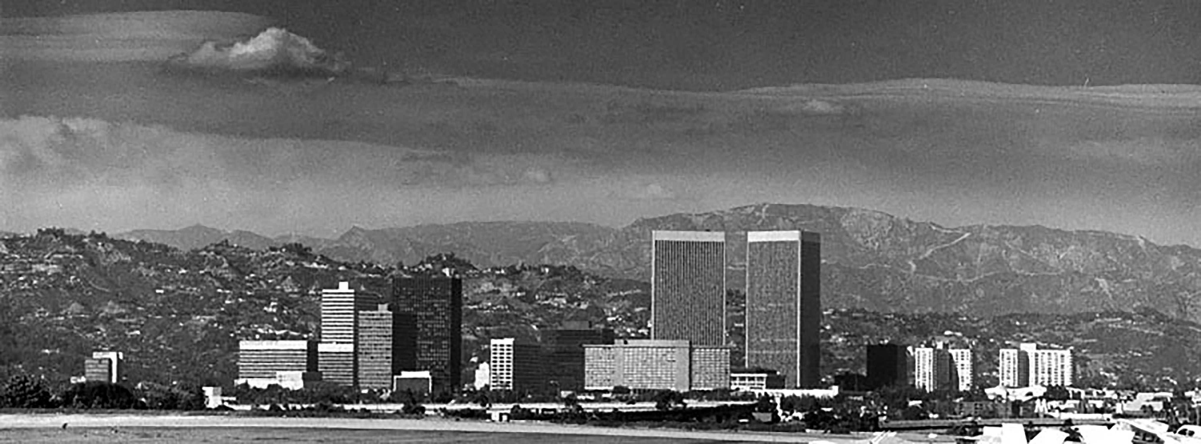 Century City In 1975 Lapl 00027951 Bizarre Los Angeles