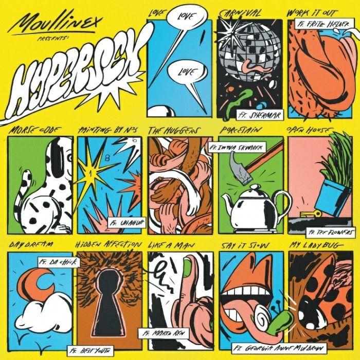 """Sexta-feira, uma boa batida e uma boa companhia são os ingredientes perfeitos para começar o fim de semana. Por isso, neste """"Música às sextas"""" trago-vos a review do último álbum de Moullinex: """"Hypersex"""".  http://mycherrylipsblog.com/musica-as-sextas-moullinex-hypersex-403070"""