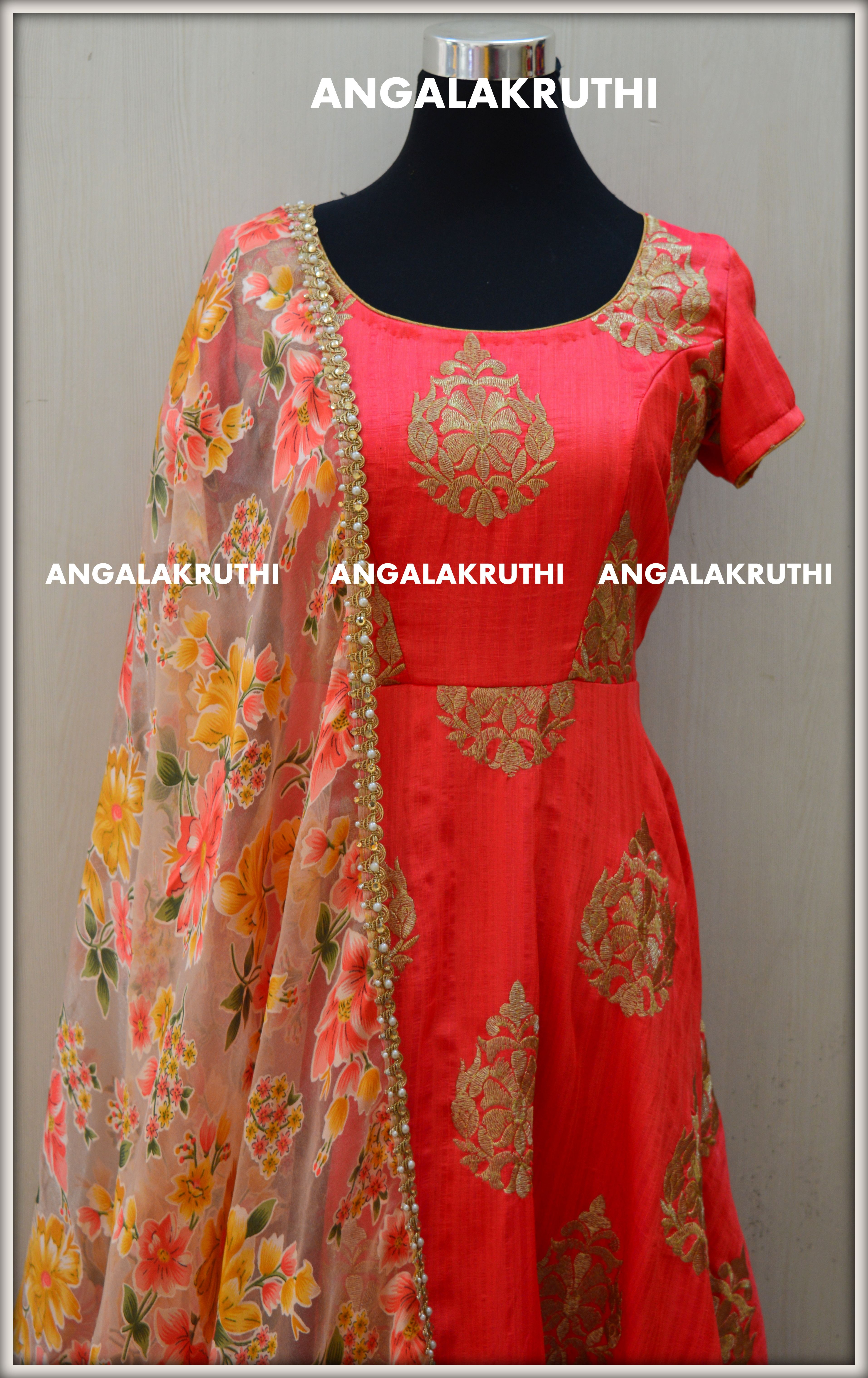 5e7636a5173 #Designer Anarkali by Angalakruti_Bangalore boutique #Angalakruthi-Ladies  and kids designer boutique in Bangalore Custom designs with online order  placement ...