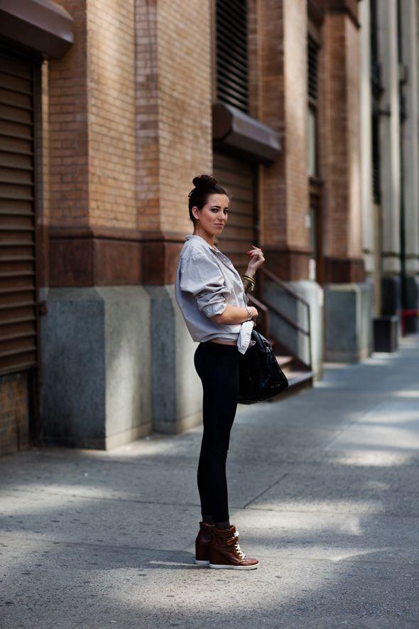 On the street... Eighth St., NY