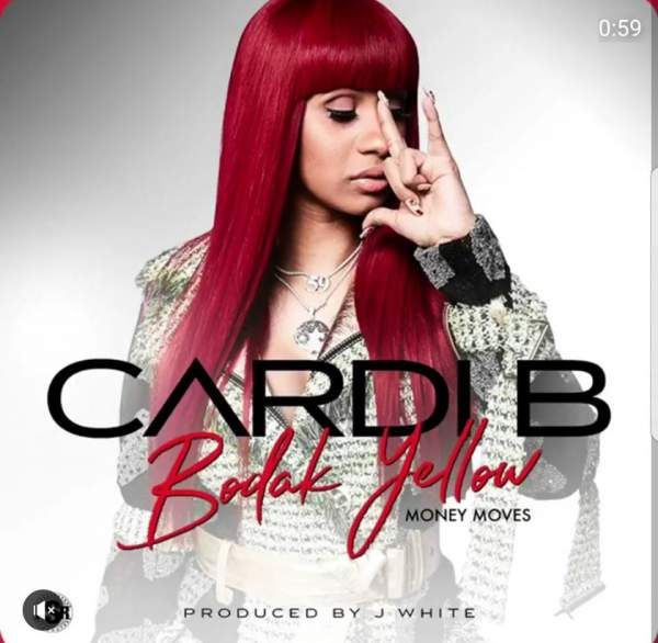 Sign Of The Horns Belcalis Almanzar Cardi B Album Art Bodak