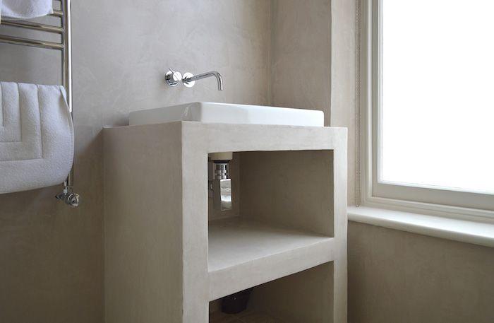 Salle de bain sans carrelage – des alternatives possibles ...