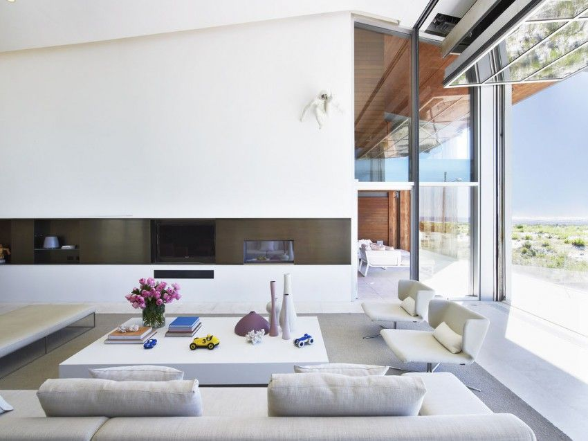 The Sea By West Chin Architects Living Room New York Beach
