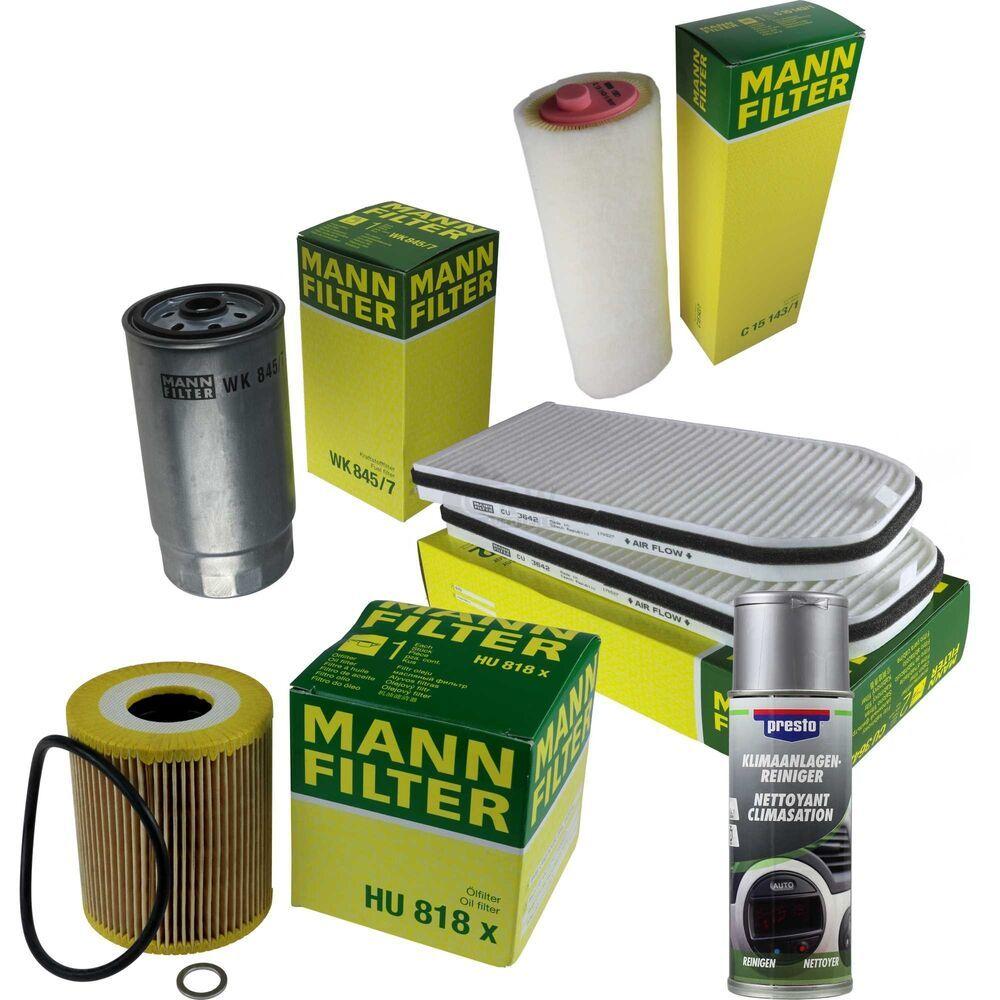 Mann Filter Paquet Kit Presto Klima Reiniger Pour Bmw Serie 7 E38 13012020 Nettoyant Auto Bmw Serie 5