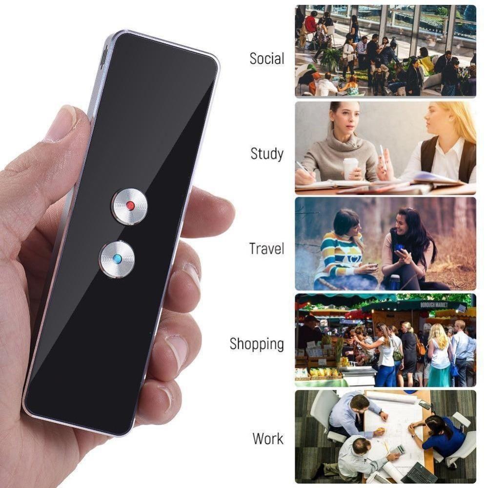 Portable Smart Translator Real Time 2 way Instant