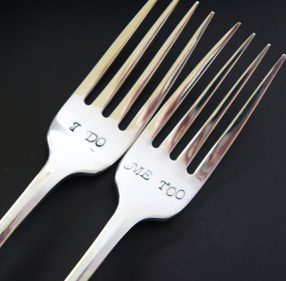 Silverware Wedding Gifts: Keepsake Wedding Forks