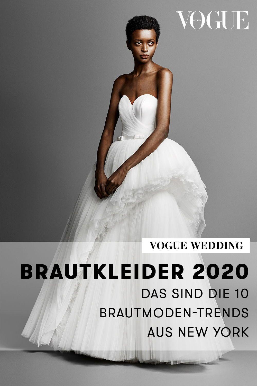 Brautkleider 17: Das sind die 17 Brautmoden-Trends aus New York