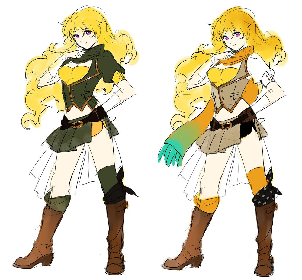 Rwby Character Design Contest : Rooster teeth productions presents rwby concept art by ein