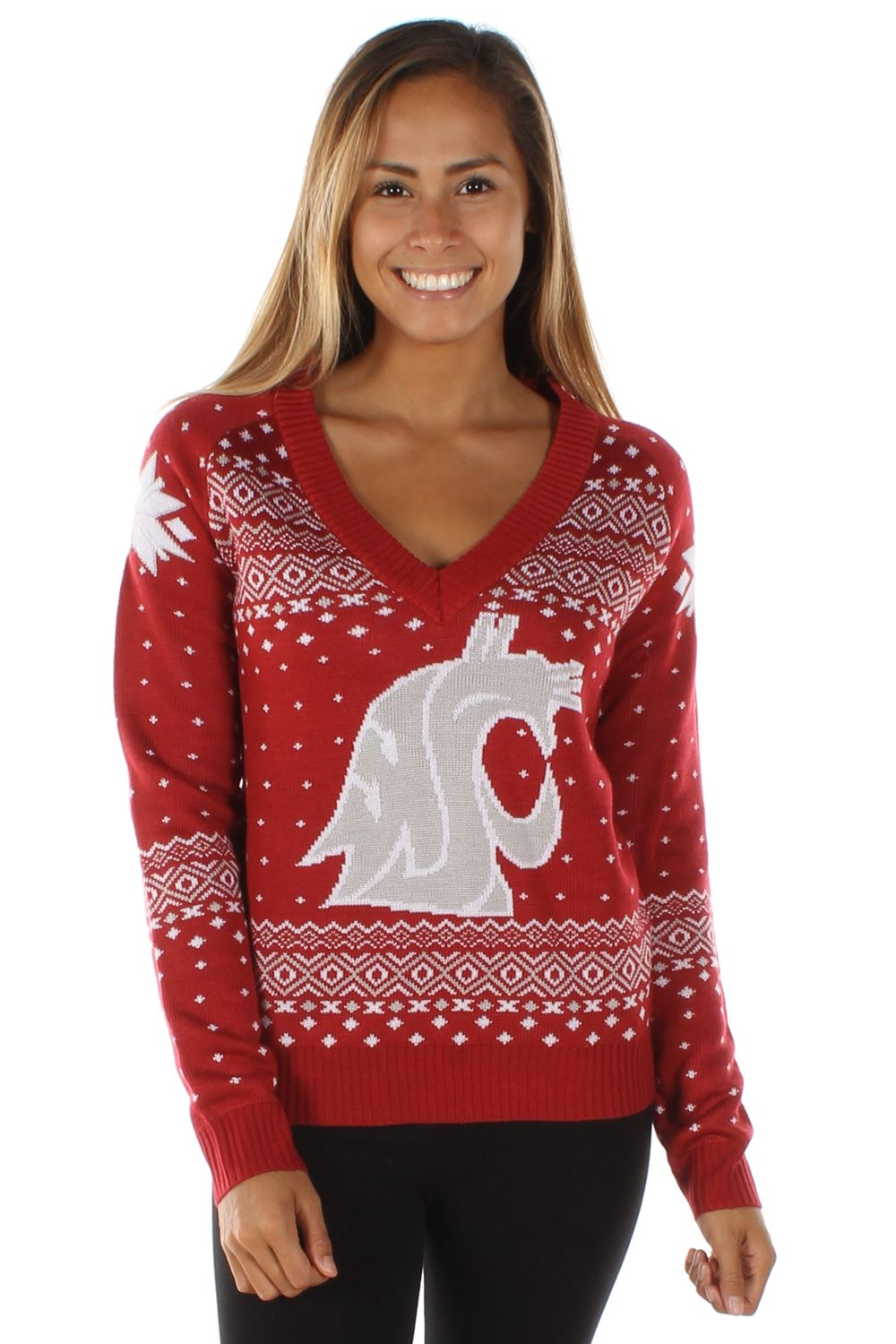 D this is beautiful!!!<3........ Women\'s College Christmas Sweater ...
